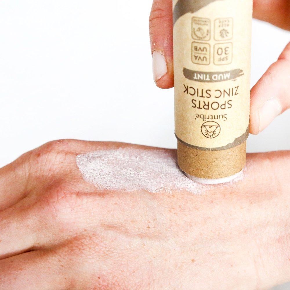 Sun Stick SPF 30, Mud Tint användning- Suntribe