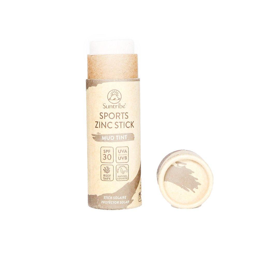 Sun Stick SPF 30, Mud Tint utan lock - Suntribe