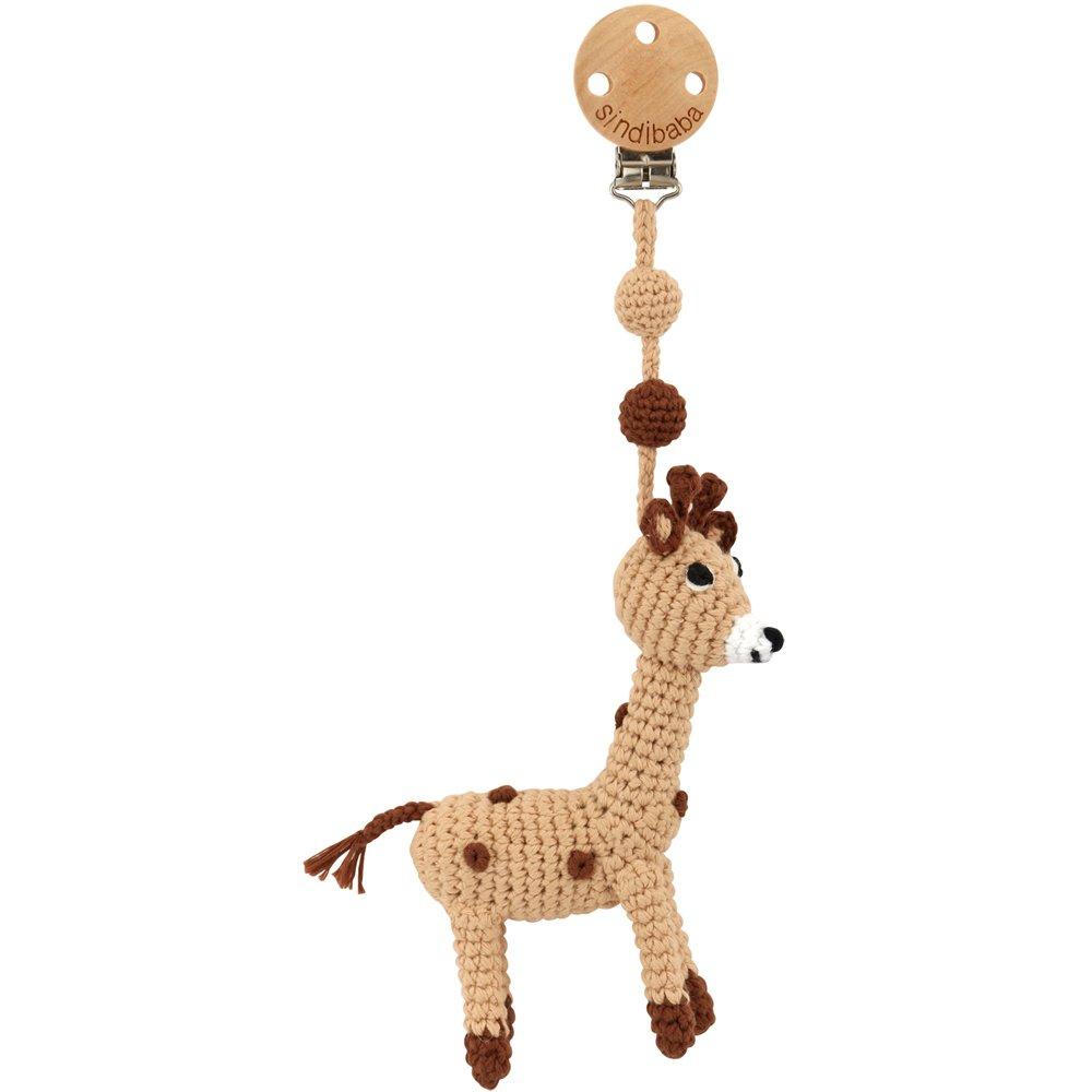 Hänge virkad Giraff - Sindibaba