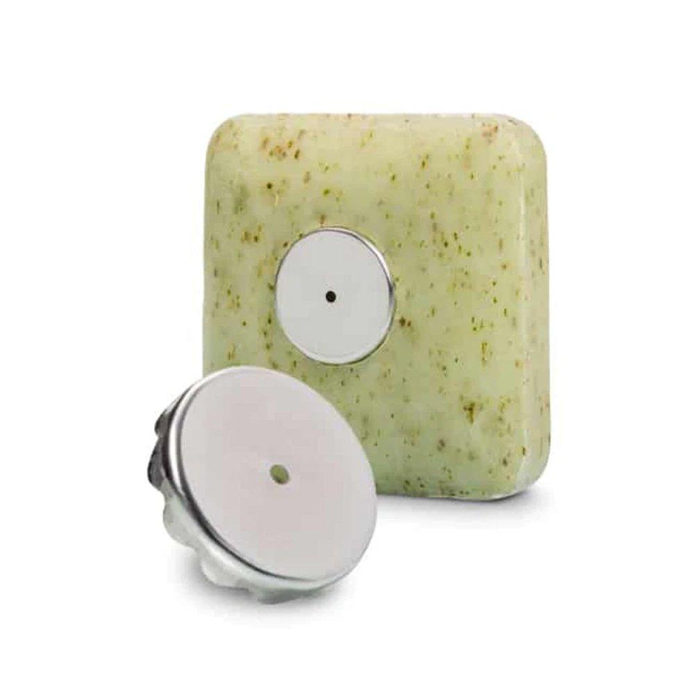 Magnetisk tvålhållare med sugpropp